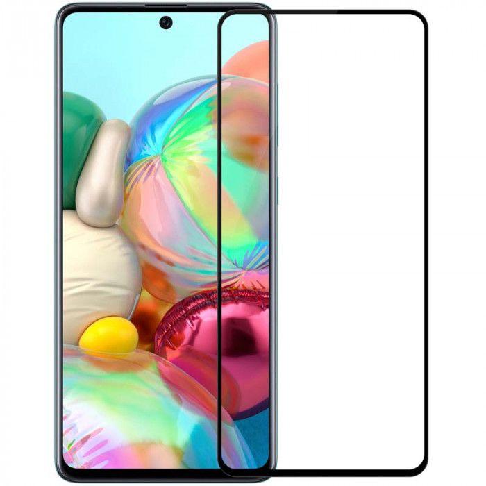 4D Glass Full BLACK Samsung A71 2020