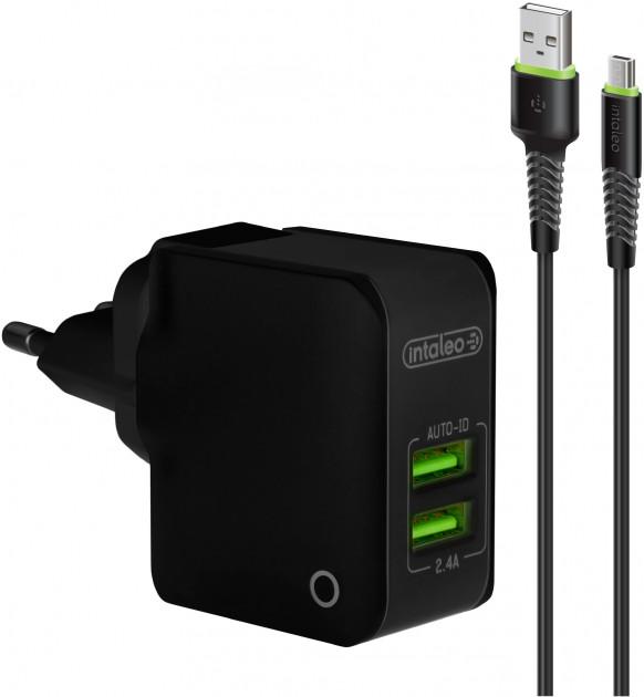 Adapter Intaleo TCA242 Micro USB Black  - 1
