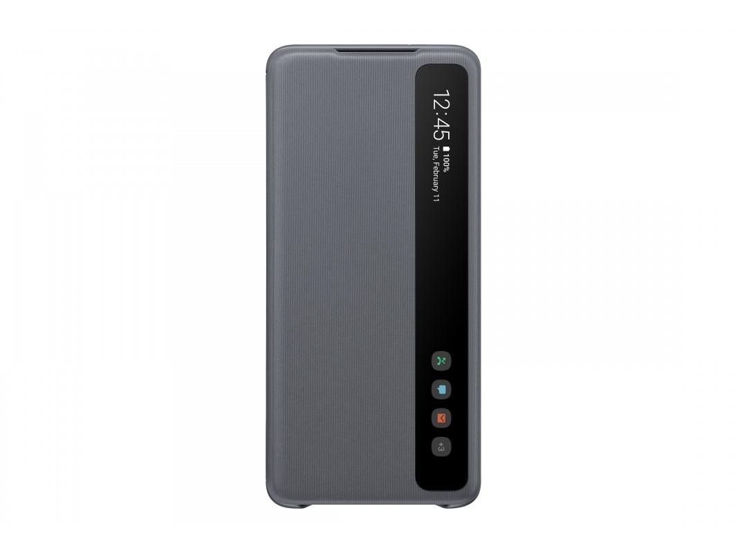 Samsung S20 Plus Clear View Cover Grey EF-ZG985CJEGRU  - 1