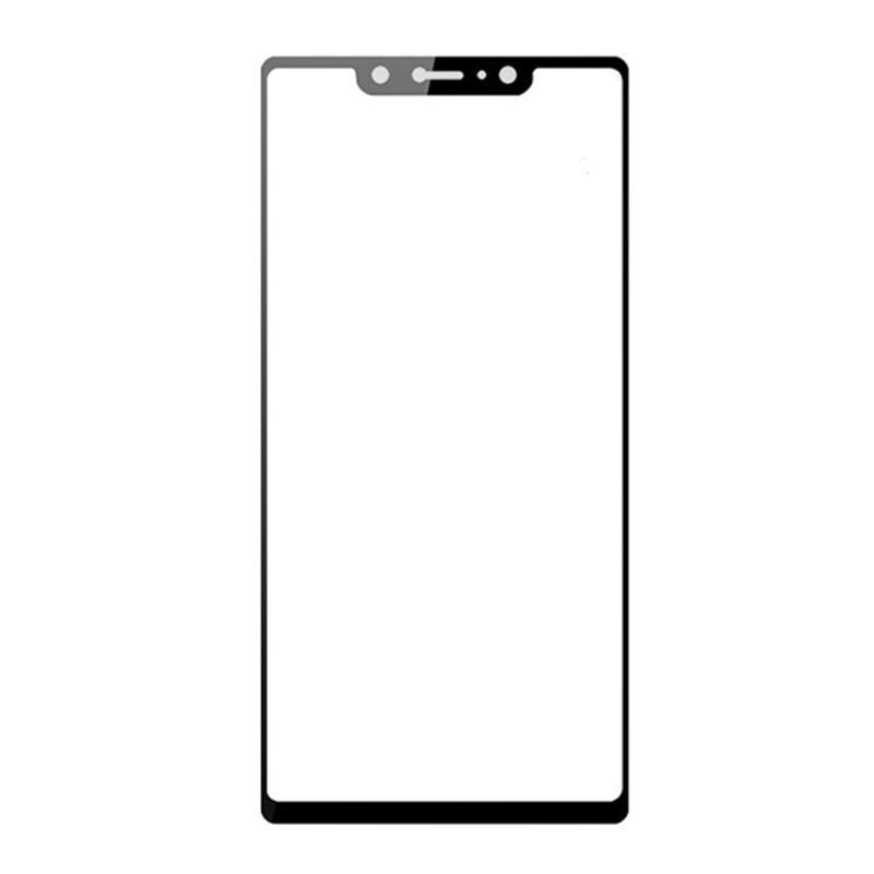Защитное стекло 4D Glass Full BLACK Samsung A01 (2020)  - 1