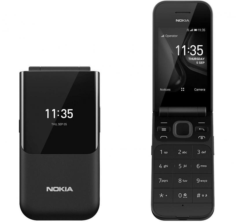 Nokia 2720 Flip BLACK - 1