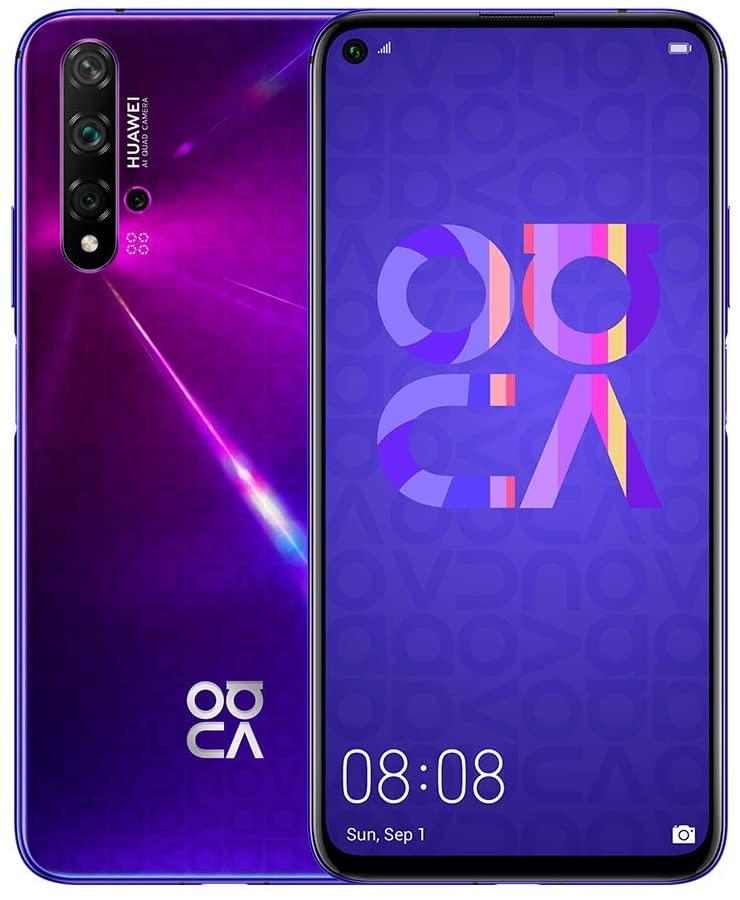 Huawei Nova 5T 6/128GB purple - 1