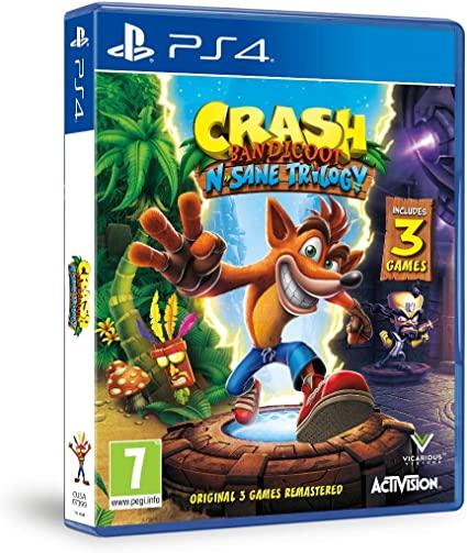 Диск Playstation 4 (Crash Nitro Fueled + Nsane Trilogy)  - 1