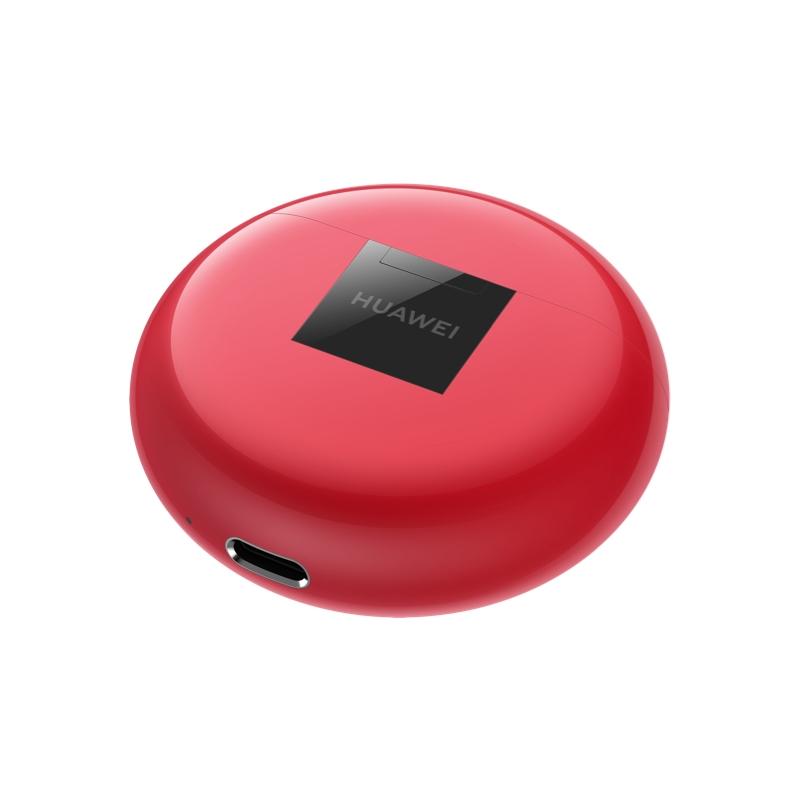 Наушники Huawei FreeBuds 3 Red  - 5