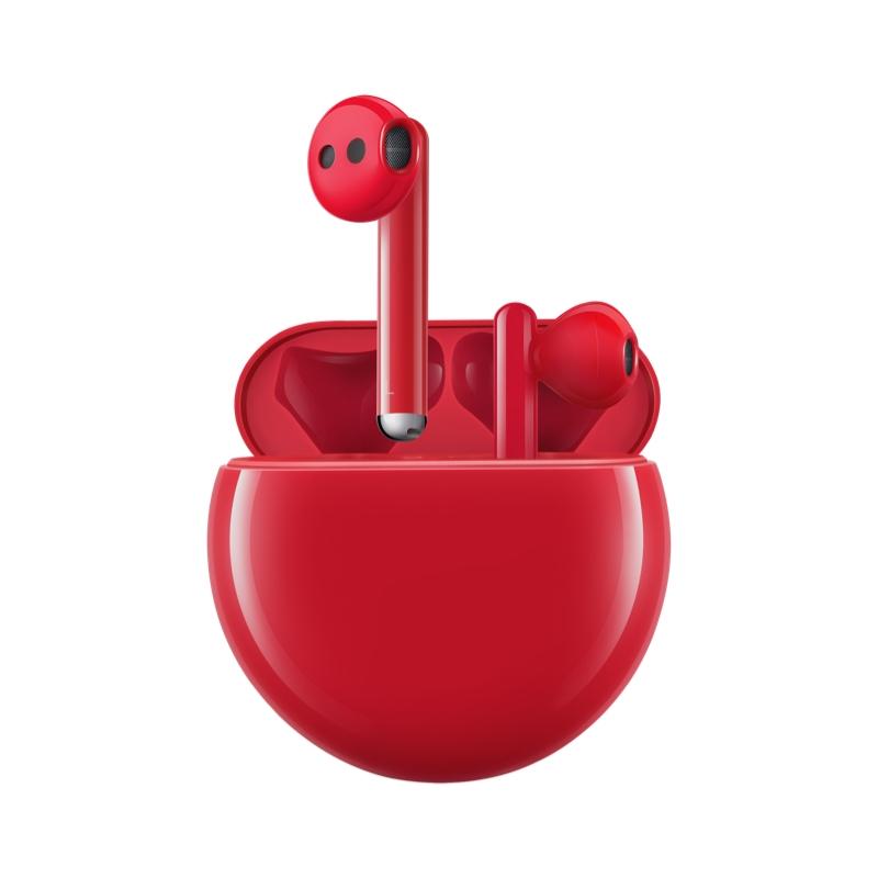 Наушники Huawei FreeBuds 3 Red  - 1