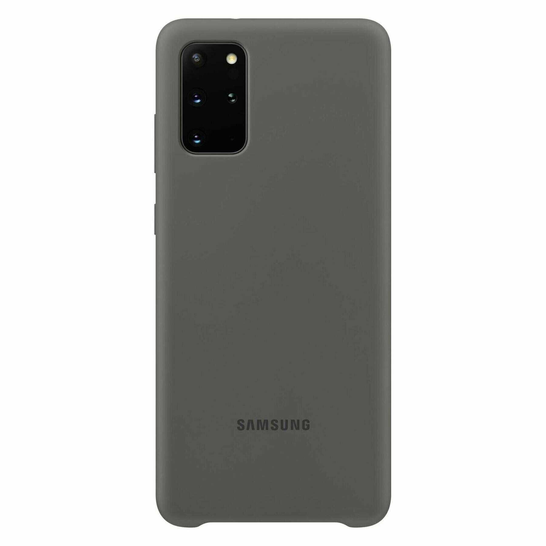 Samsung S20 Plus Silicone Cover Grey EF-PG985TJEGRU  - 1