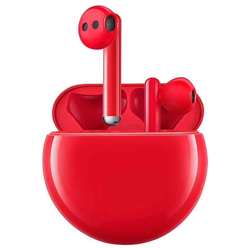 Qulaqlıq Huawei FreeBuds 3 Red  - 1