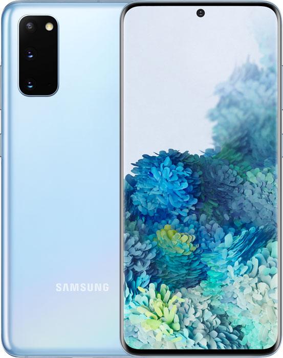 Samsung Galaxy S20 DUAL (SM-G980F) Light  Blue - 1