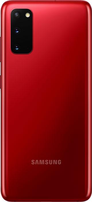 Samsung Galaxy S20 DUAL (SM-G980F) Red - 4