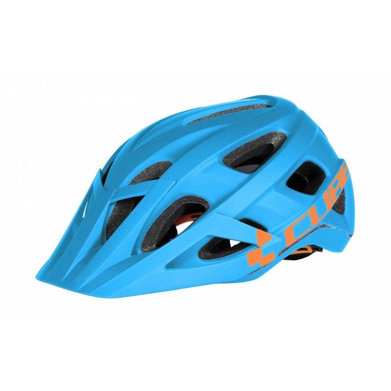 Helmet Cube AM Race S/M Blue-Orange