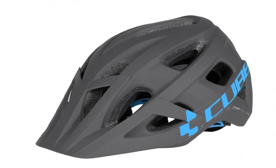 Helmet Cube AM Race L Grey-Blue