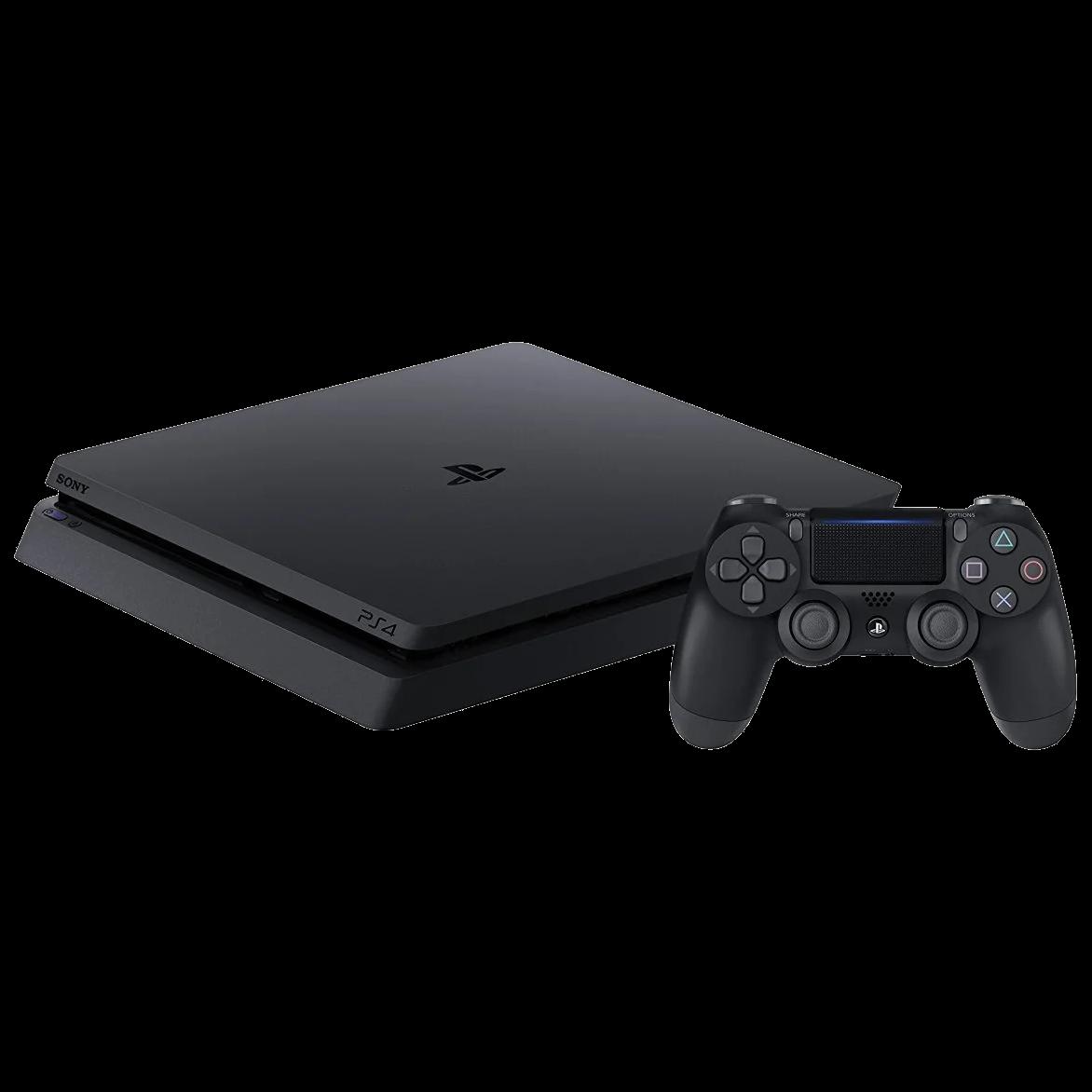 PlayStation4 1TB + 3 Games + PS Plus Black - 3