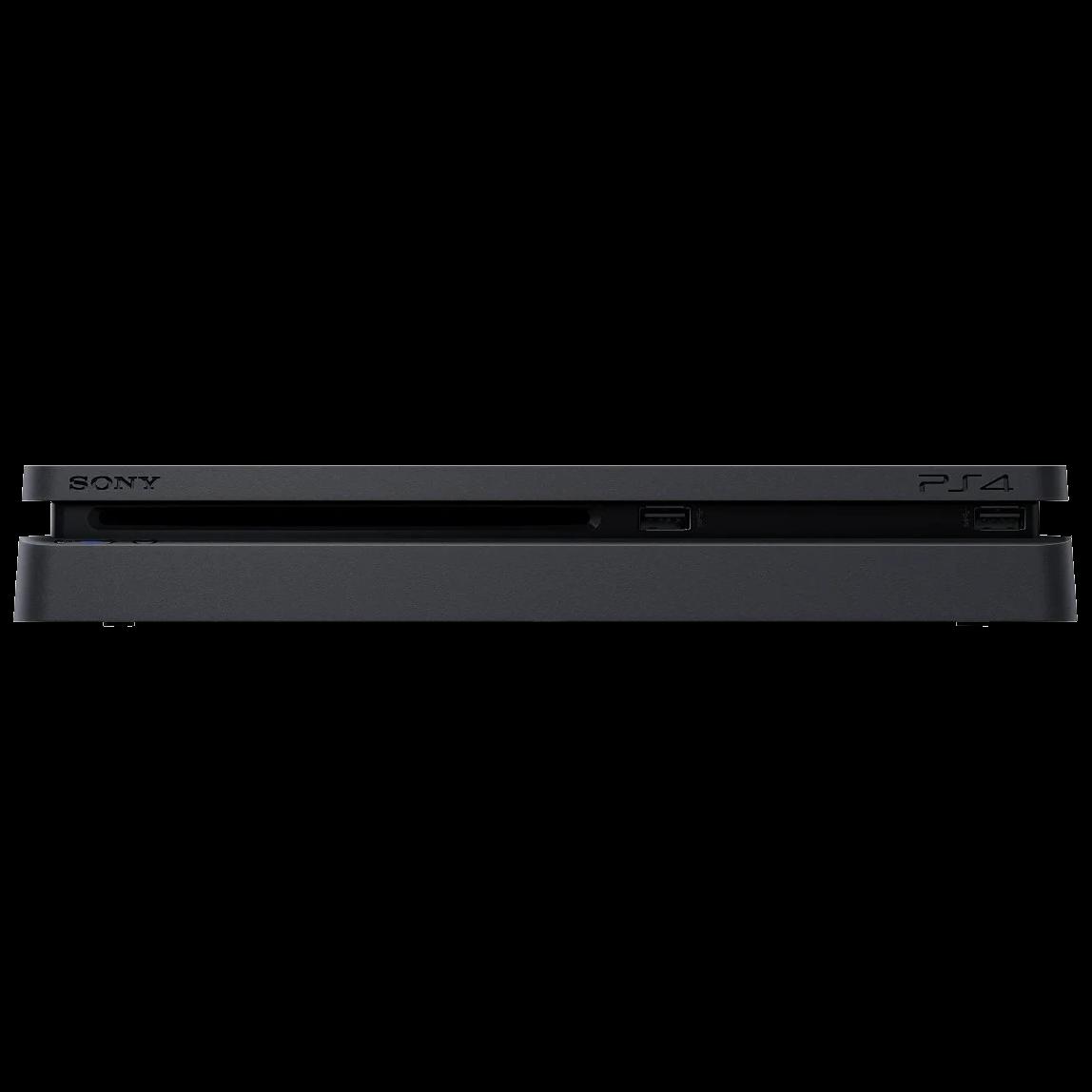 PlayStation4 1TB + 3 Games + PS Plus Black - 5