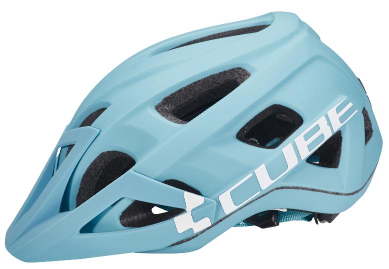 Helmet Cube AM Race S/M Blue-White