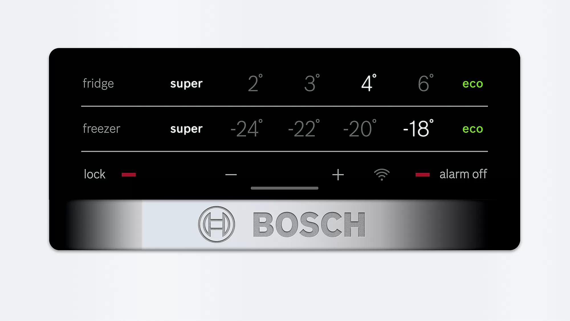 Soyuducu Bosch KGN36XW30U  - 4