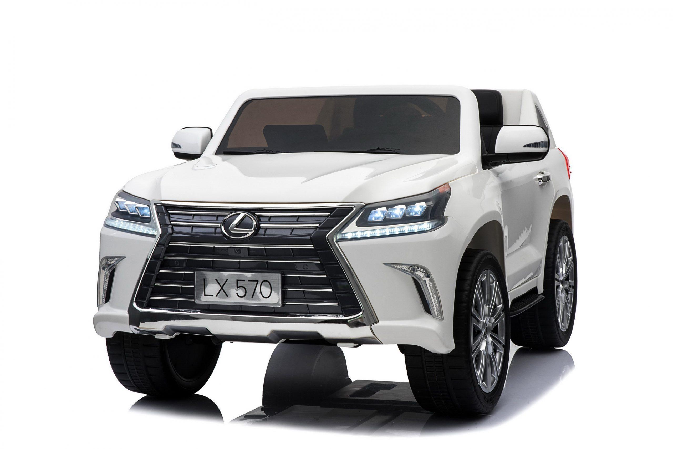 Elektromobil Lexus LX570 White
