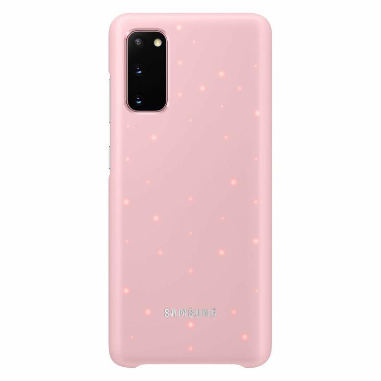 Samsung S20 LED Cover Pink EF-KG980CPEGRU
