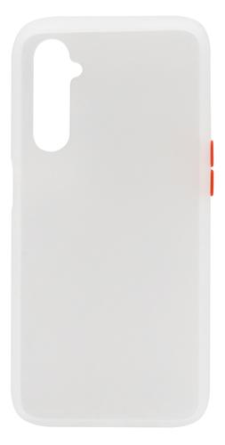 Realme 6 Cover Half Transparent White