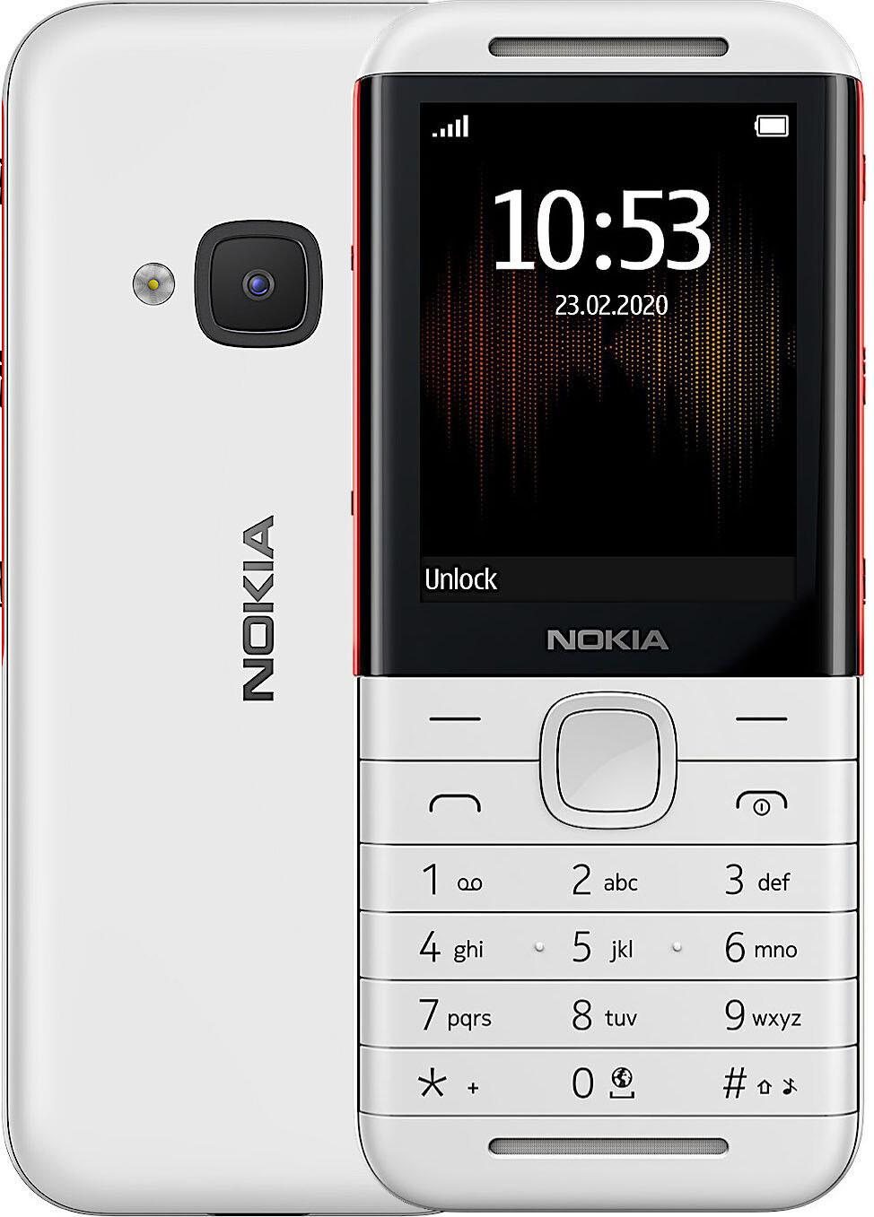 NOKIA 5310 DS White/Red