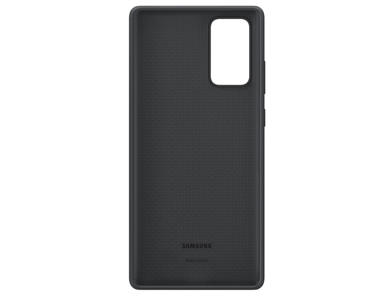 Samsung Note 20 Silicone Cover Black EF-PN980TBEGRU  - 1