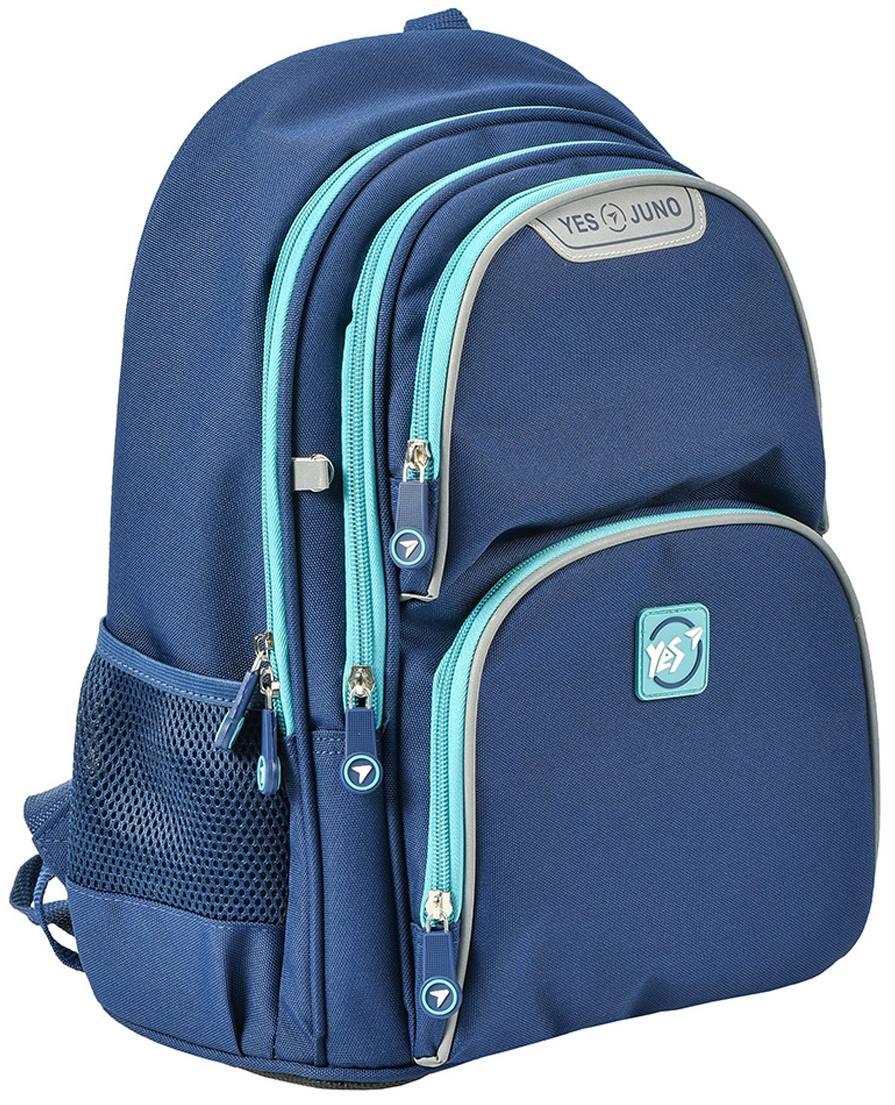"""Школьный рюкзак 36x28x15  YES S-30 Juno  """"Boys style"""" blue  - 1"""