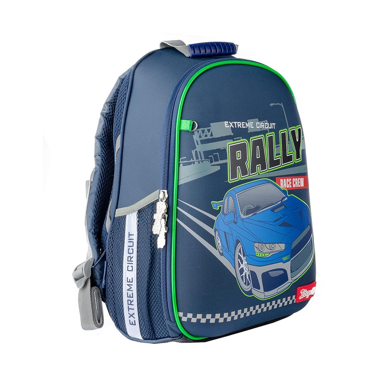 "Школьный рюкзак жестким каркасом 38x26x13 1Сентябрь Н-27 ""Rally""  - 2"