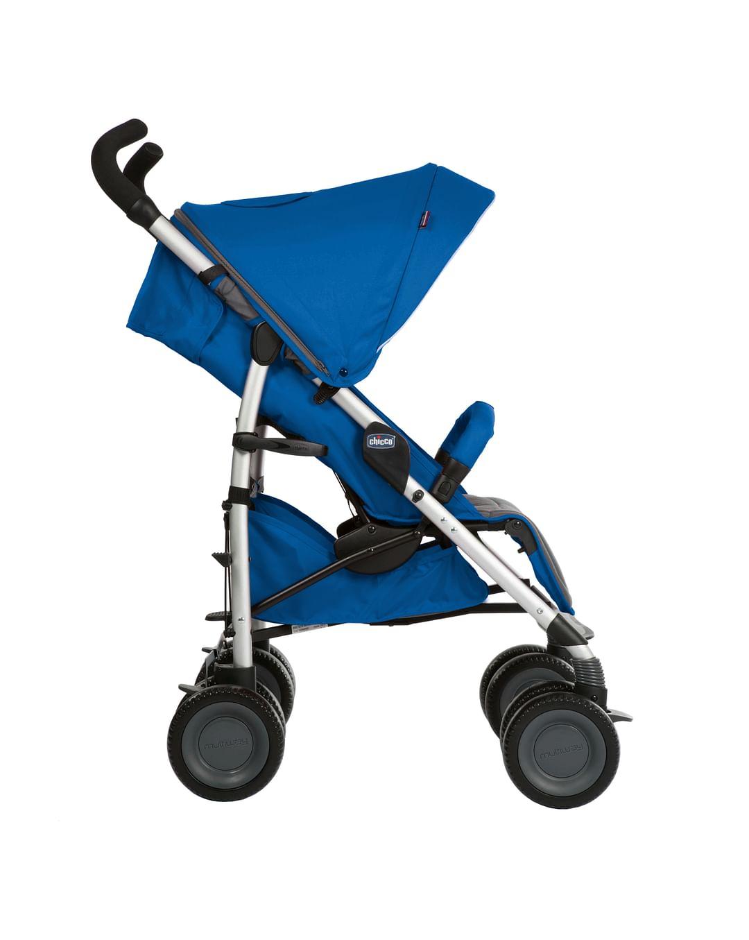 Uşaq Arabası Chicco Multiway 2 Blue  - 2