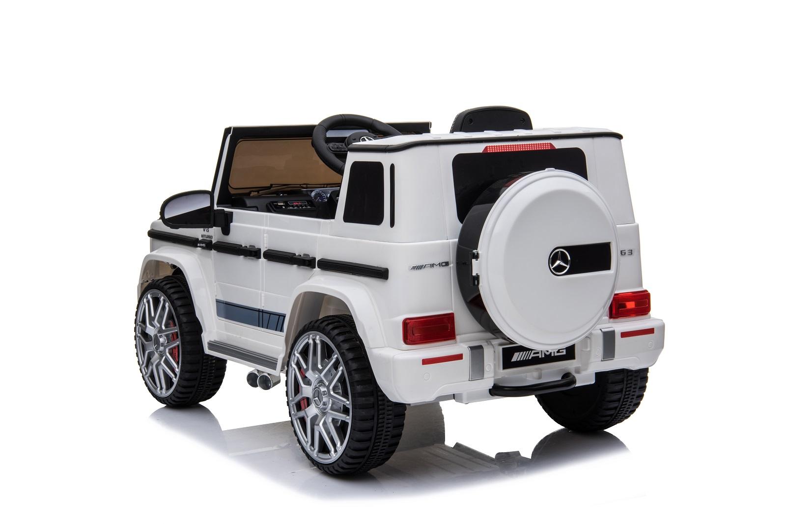 Elektromobil Mercedes Benz G-Wagen AMG JJ263 White  - 2