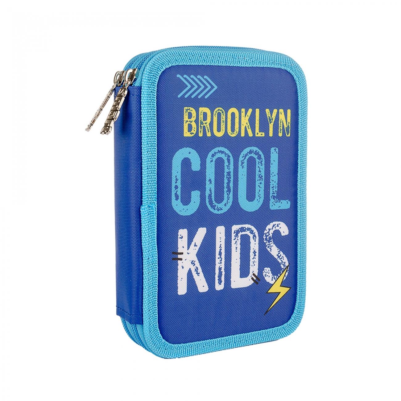 Sərt qələm çantası  SMART double 20x4.5x13 HP-01 Cool Kids  - 1