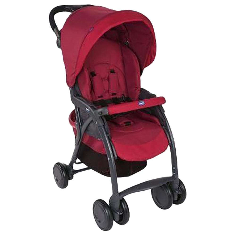 Uşaq Arabası CHICCO Simplicity Plus Stroller Scarlet  - 1