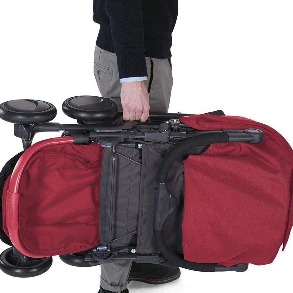 Uşaq Arabası CHICCO Simplicity Plus Stroller Scarlet  - 2