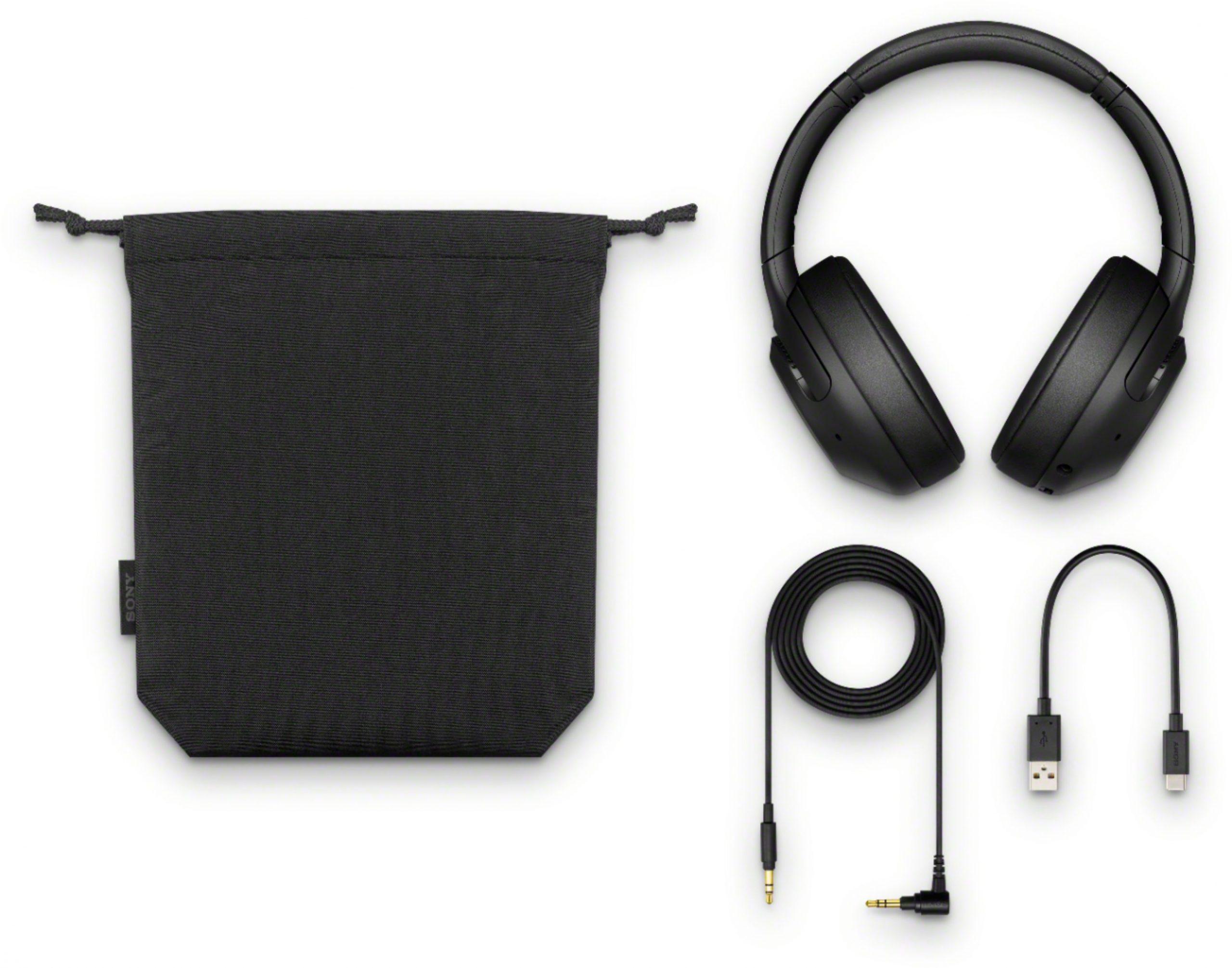 Qulaqlıq Sony WH-XB900N Wireless NC Black  - 5