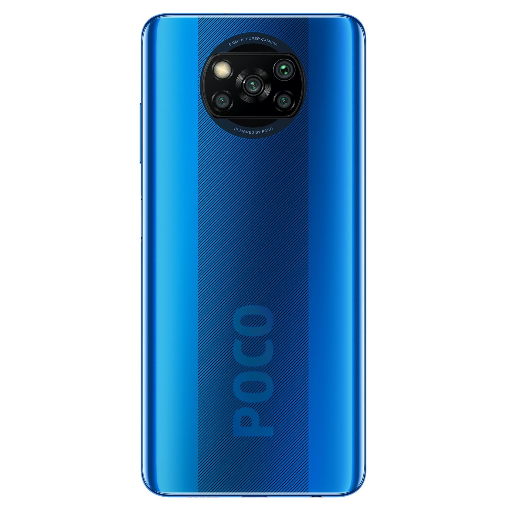 Xiaomi Poco X3 64GB Blue - 3