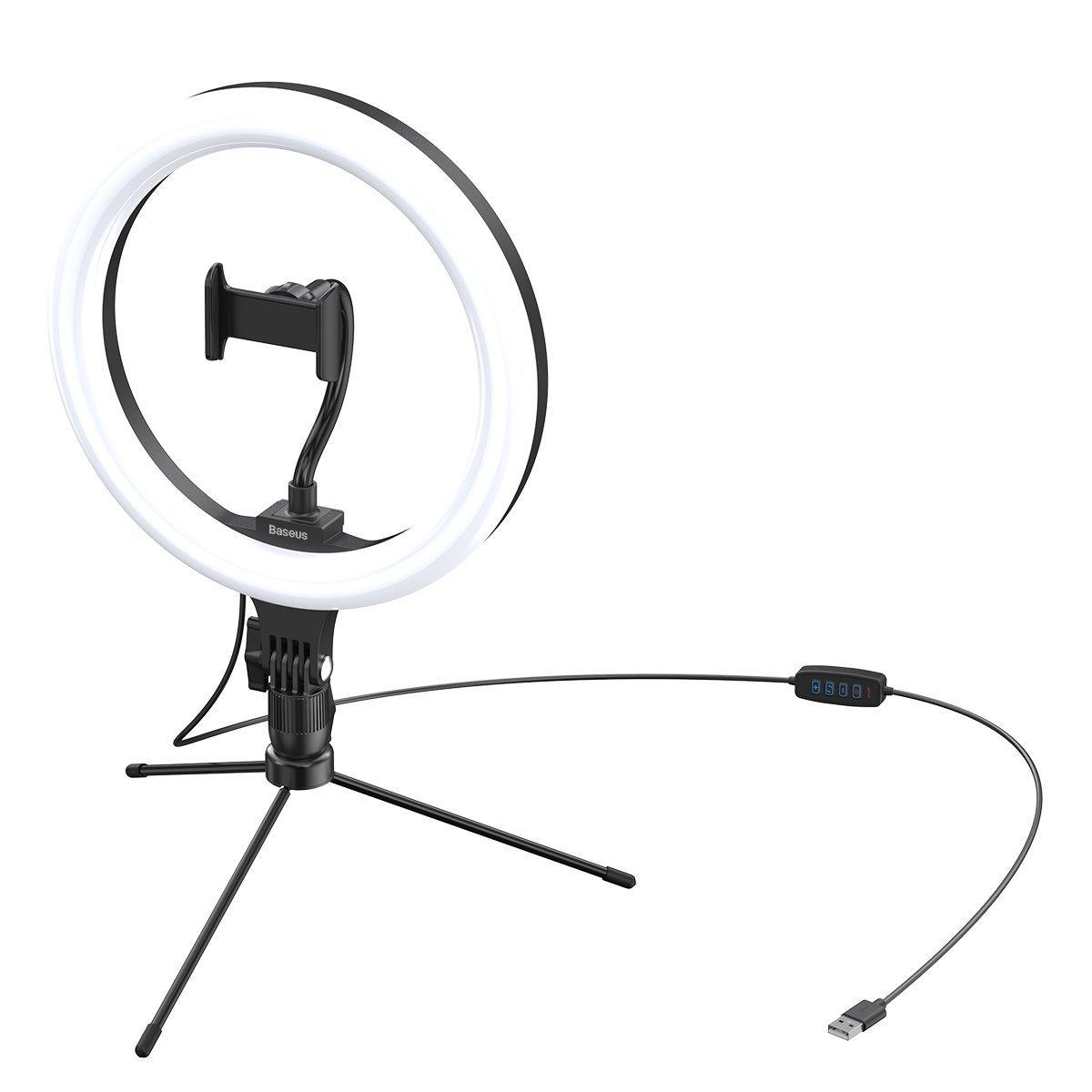 Baseus Live Stream Holder Stand 12' Black  - 2