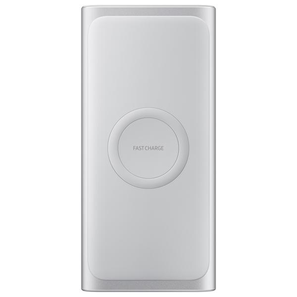 Samsung PowerBank 10000 mAh Qi Silver EB-U1200CSRGRU  - 1