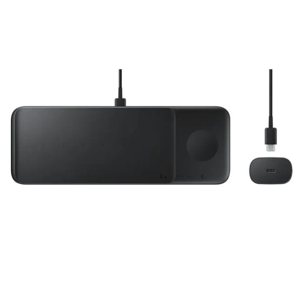 Samsung Multi Qi Charger Trio Black EP-P6300TBRGRU  - 1