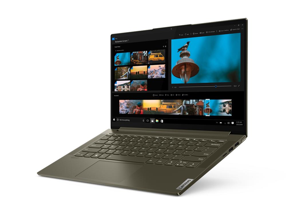 Ноутбук Lenovo Yoga Slim 7 14IIL05 (82A100EMRK)  - 2