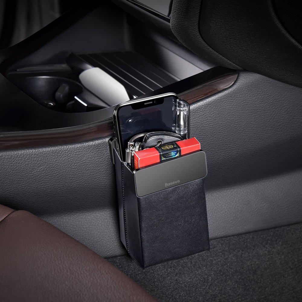 Baseus Magic Car Storage Rack Black  - 5