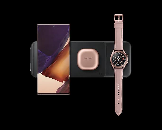 Samsung Multi Qi Charger Trio Black EP-P6300TBRGRU  - 4
