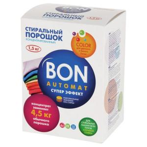 Konsentrləşdirilmiş yuyucu vasitə Super Effekt Rənqli paltarlar üçün BON BN-138