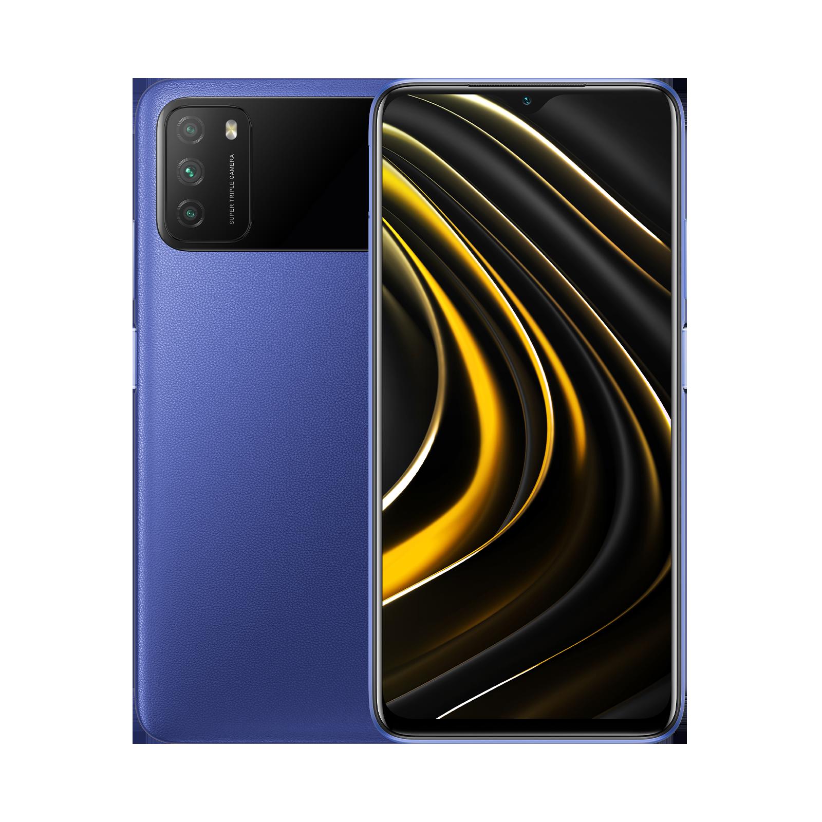 XIAOMI POCO M3 4/128GB blue - 1