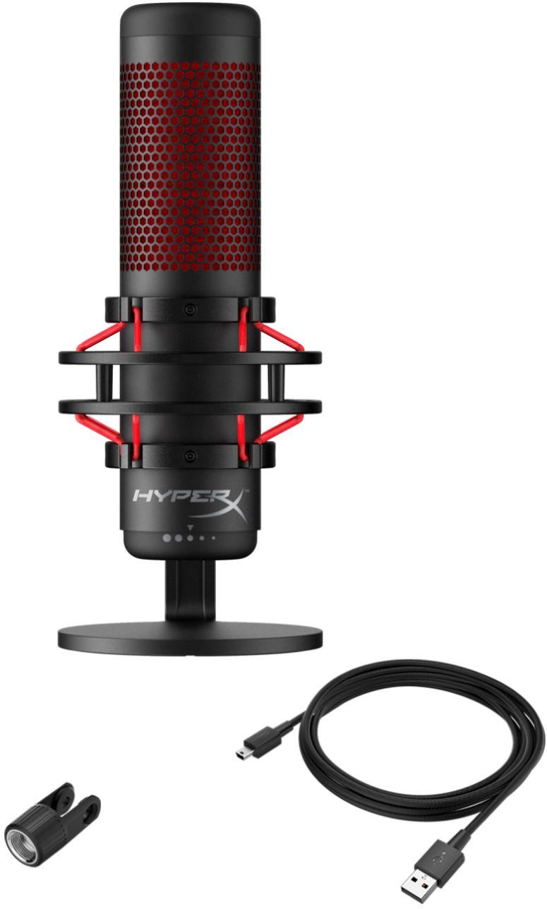 Gaming Microphone HyperX QuadCast USB Condenser  - 3