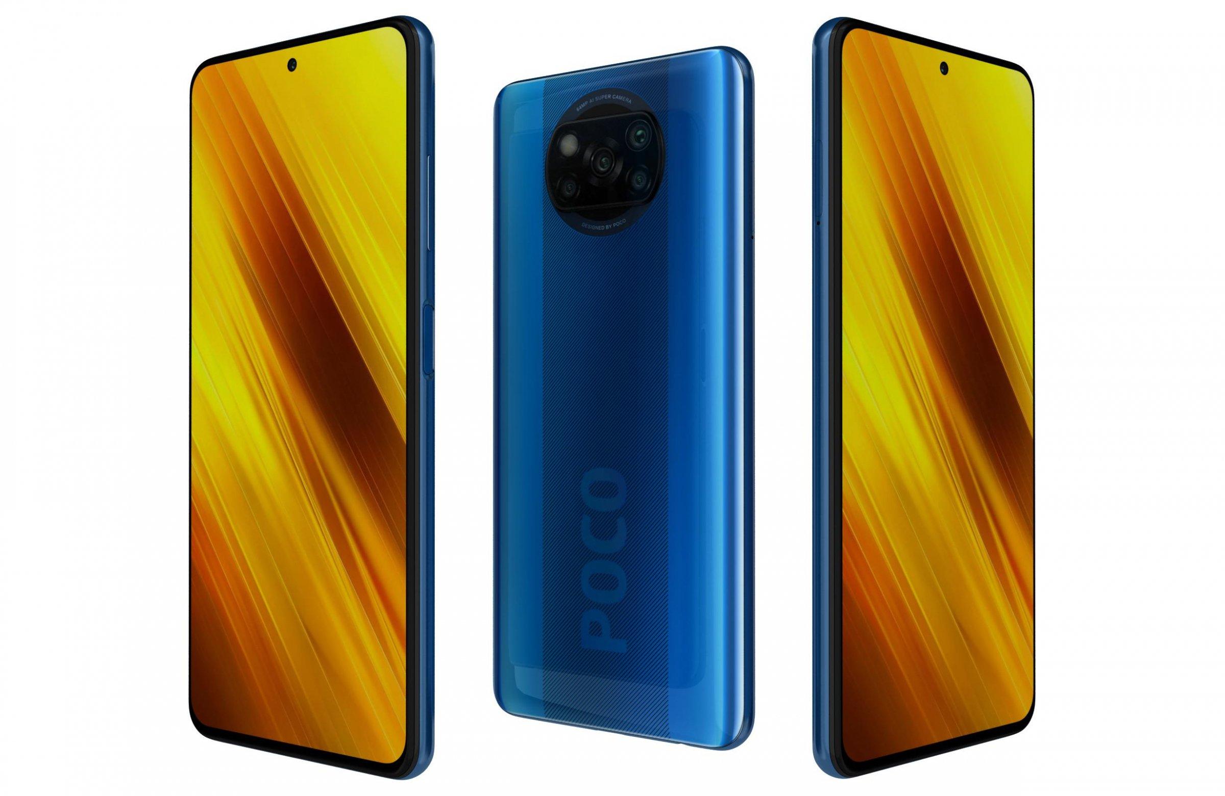 Xiaomi Poco X3 64GB Blue - 4