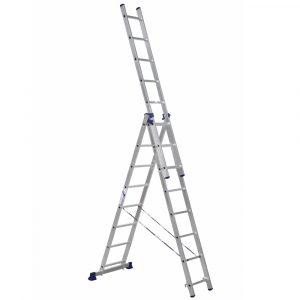 Nərdivan Alumet 3x8 pilləli aluminium  (H3 5308)