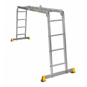 Nərdivan Alumet 4x4 4 qatlanan aluminium  60,9x25 (T444)