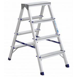 Лестница Alumet 4 ступени алюминова (AD7204)
