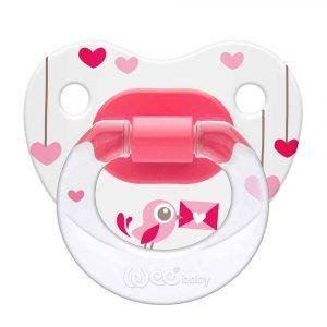 Rəngli əmzik (6-18) Wee baby 834 (pink)
