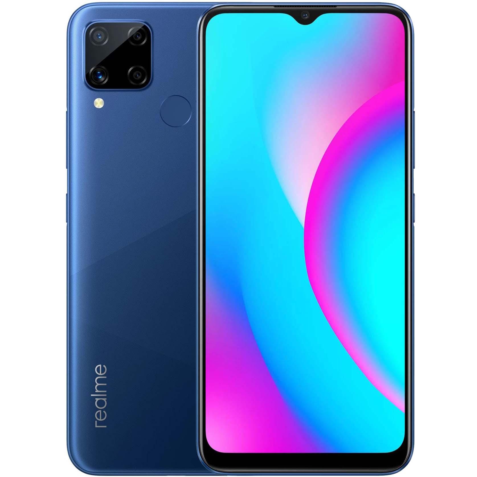 Realme C15 4/64GB Blue - 1