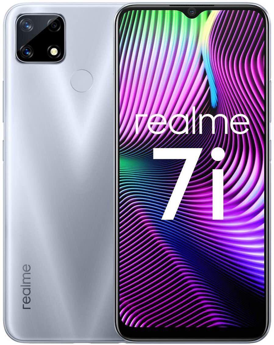 Realme 7i 4/64GB Silver - 1