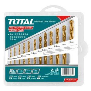Drel üçün başlıq Total TACSD 0125/12 pcs